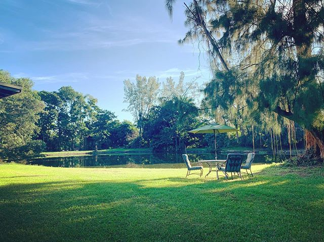 Sunday morning feels ☀️ #Myrlandstables #sundaymornin #yeah #southflorida