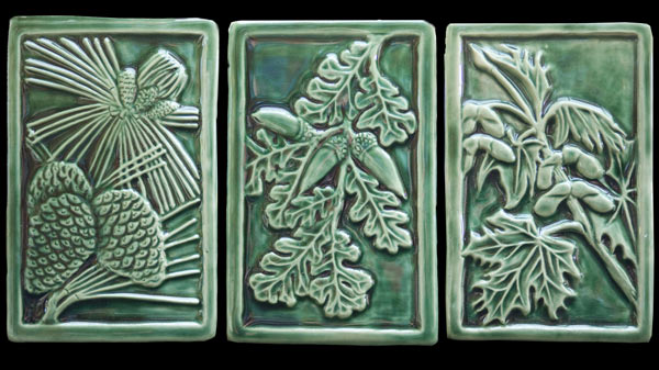 Leslie Campbell - In the garden or in the studio I want to have my hands in the earth. I like the directness and malleable qualities of clay. I enjoy the creative act and the challenge of transforming ideas into reality. I want my work to add beauty and usefulness to people's lives, whether it's the ceramic tile on their hearth or their favorite coffee mug. The product is always a collaboration between materials, process, ideas and skill. There is an excitement in the alchemy of the kiln's fire, and the result is always a surprise.