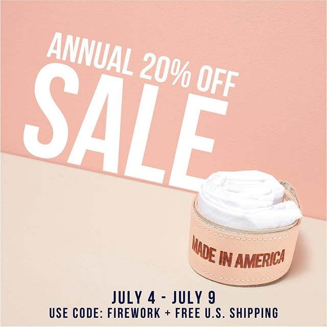 Let's start the 4th out right 🎆 July is a special month and worth celebrating. Today through July Ninth we're having our 20% OFF sale on julynine.com. Use code FIREWORK at checkout. 🇺🇸🇺🇸🇺🇸🇺🇸🇺🇸🇺🇸🇺🇸🇺🇸 #julynine #madeinamerica #madeintheusa #happyfourth #fourthofjuly #sale #independenceday #usamade