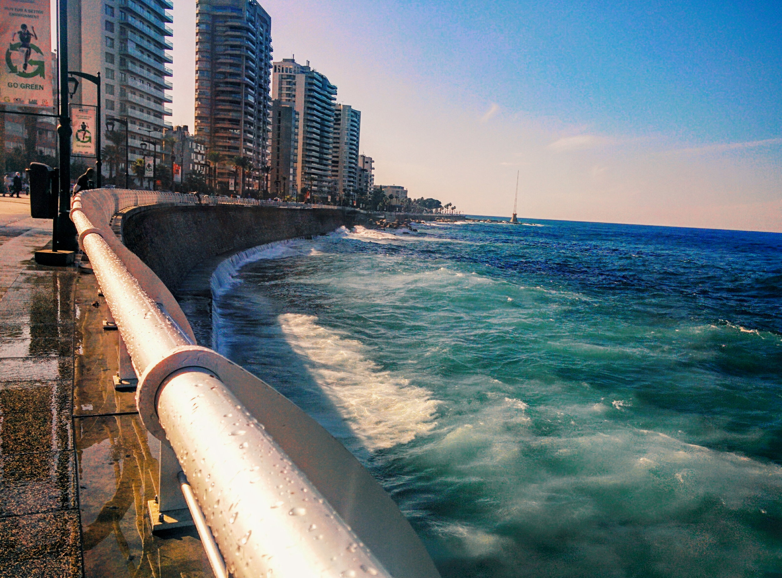 This moment is magical. Beirut, Lebanon.