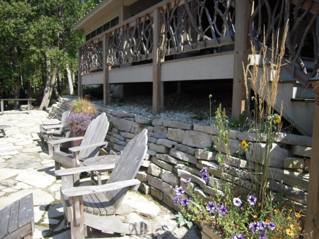Stone Patio and Wall Under Deck.jpg