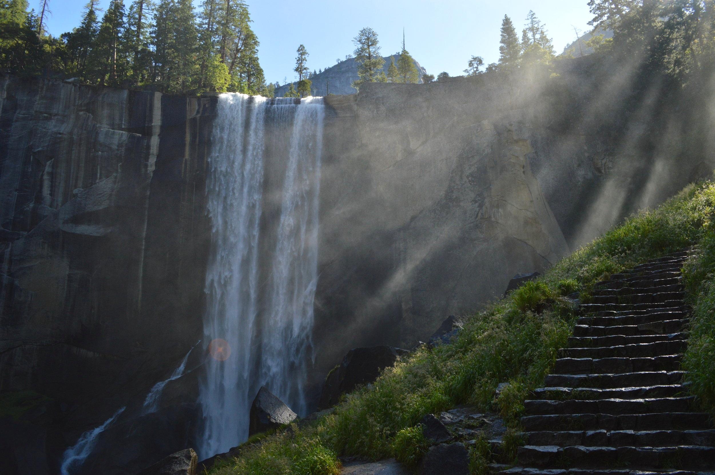 Mist Trail - Hiking in Yosemite