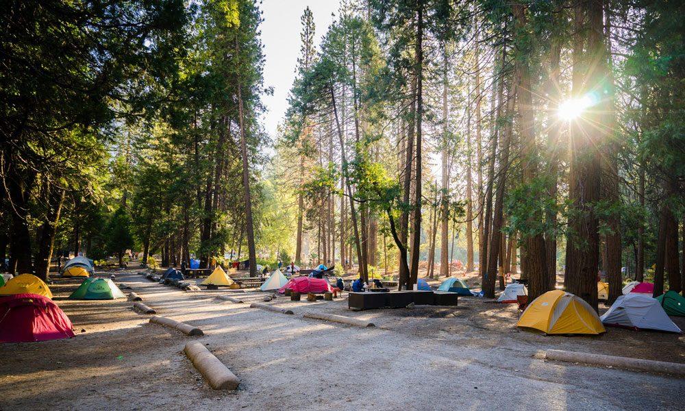 Camp 4 in Yosemite National Park