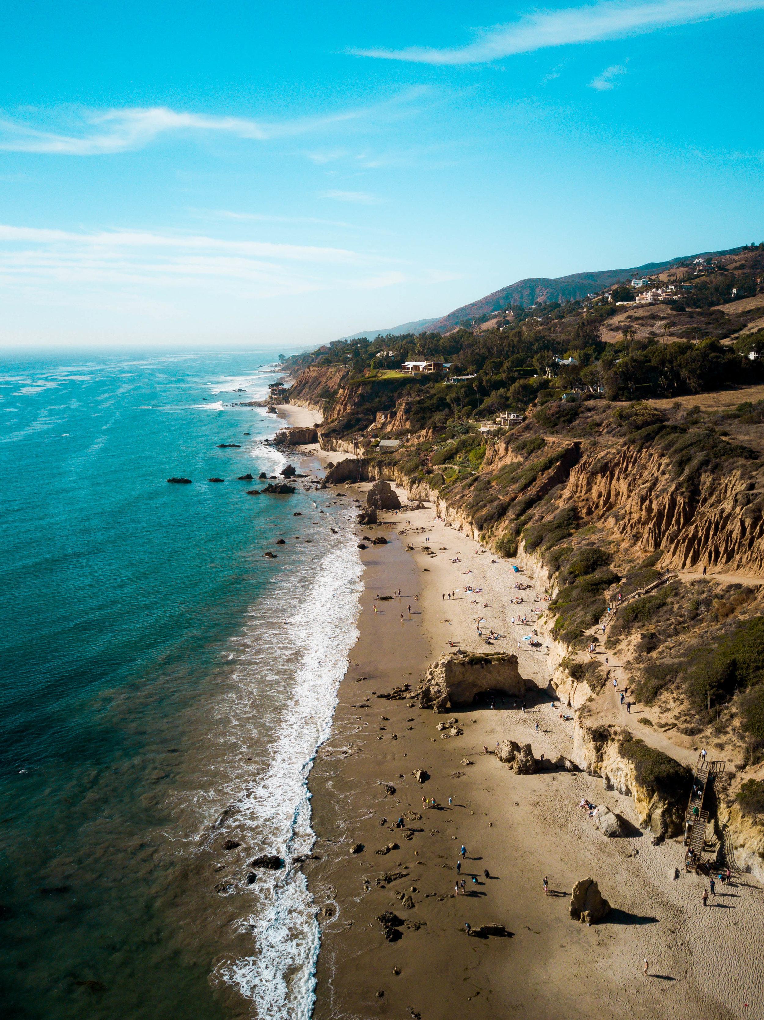 El Matador Beach -