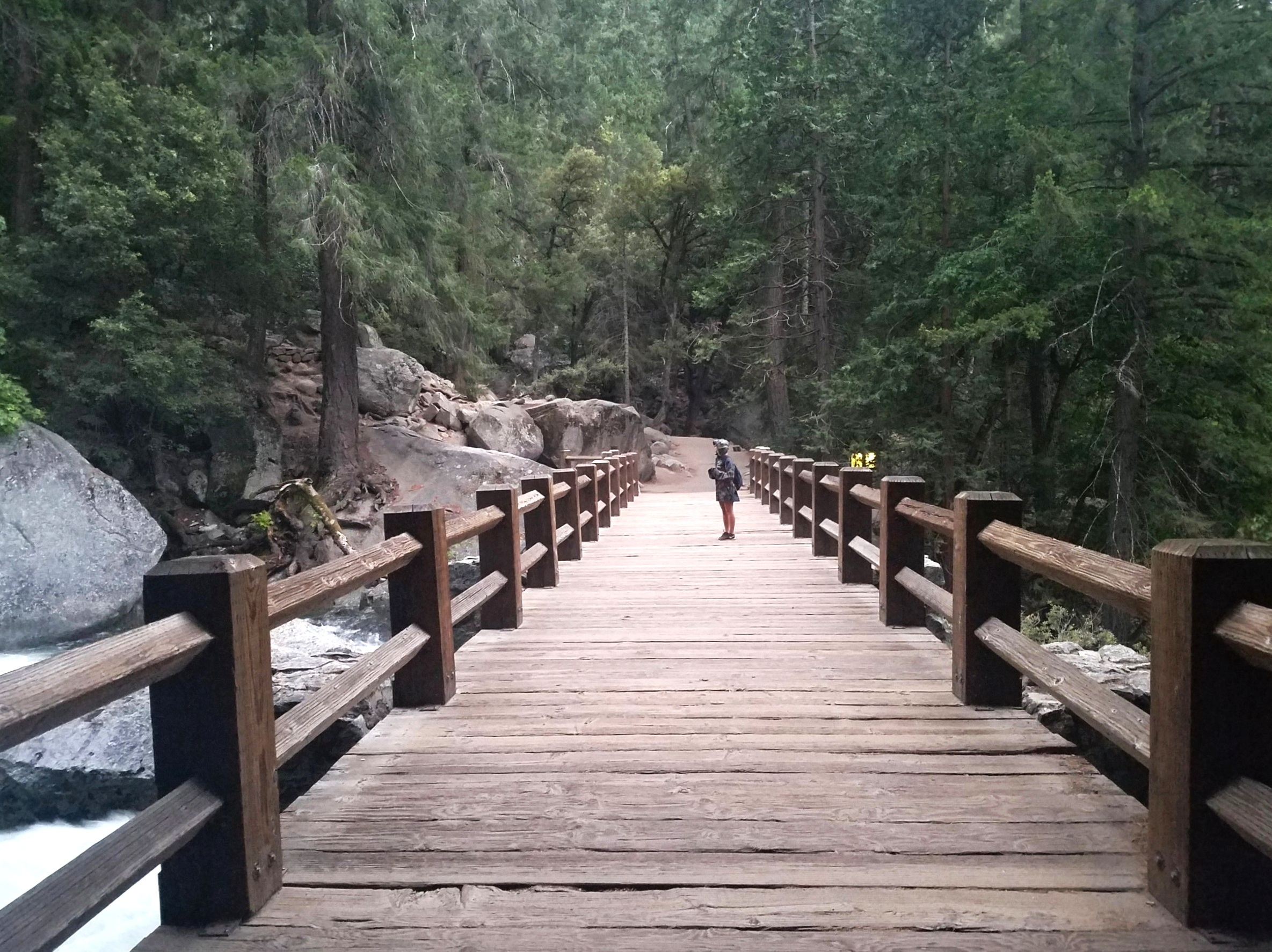 Hiking the Mist Trail - Yosemite National Park