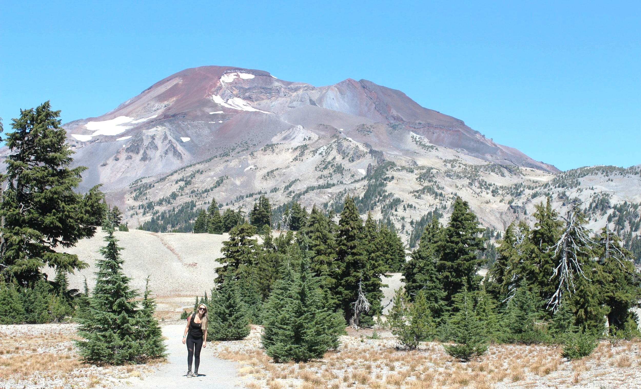 Hiking South Sister -