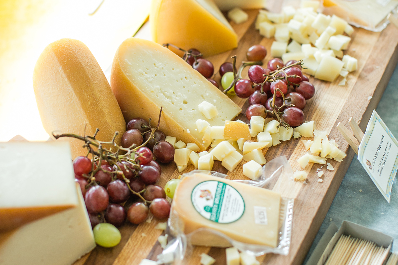 Go cheese tasting