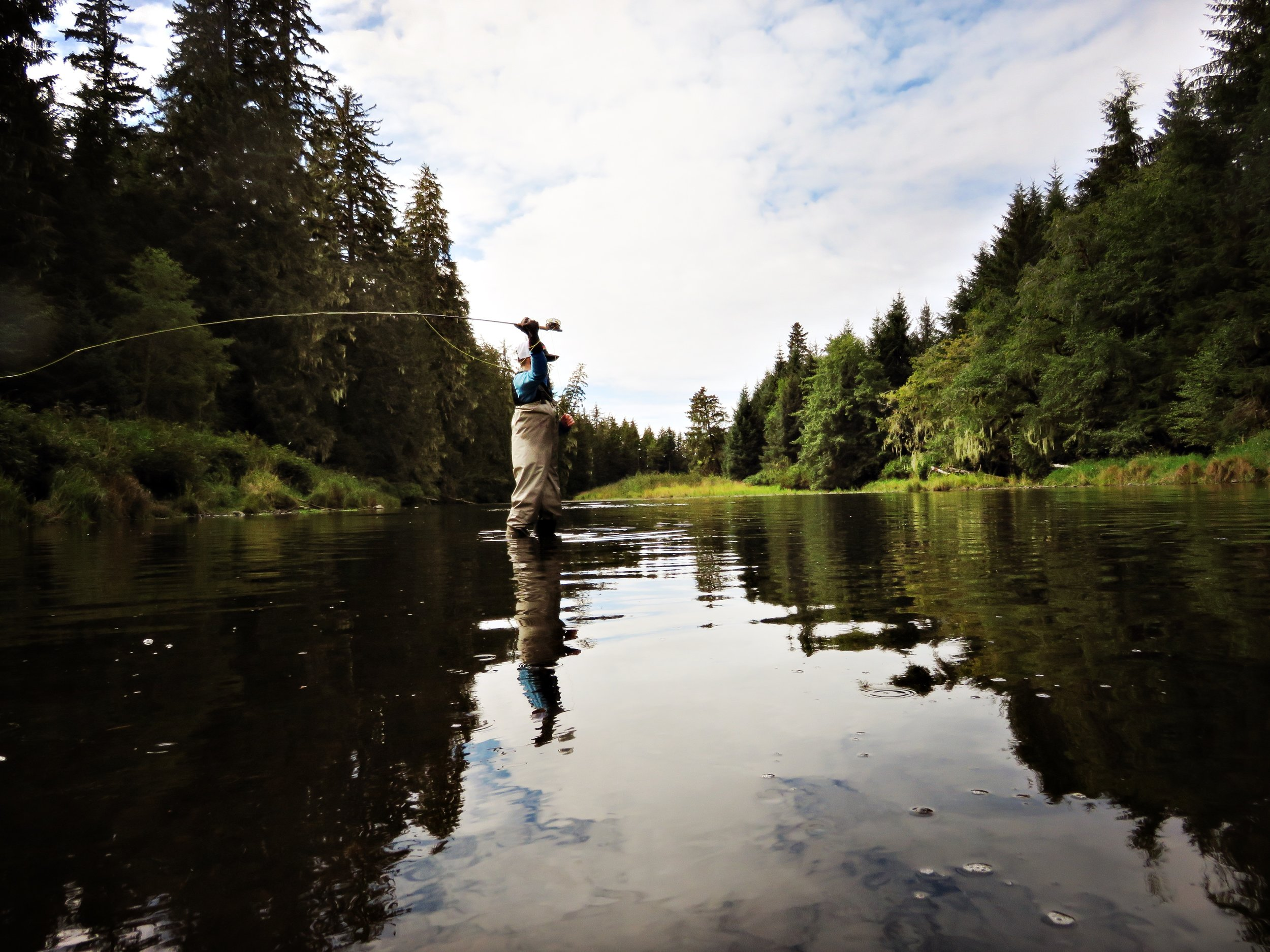 Try fly fishing