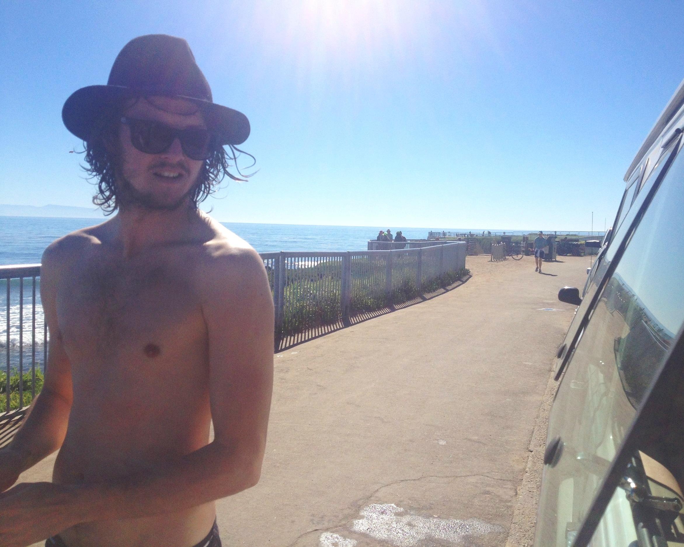 Surfing+in+Santa+Cruz
