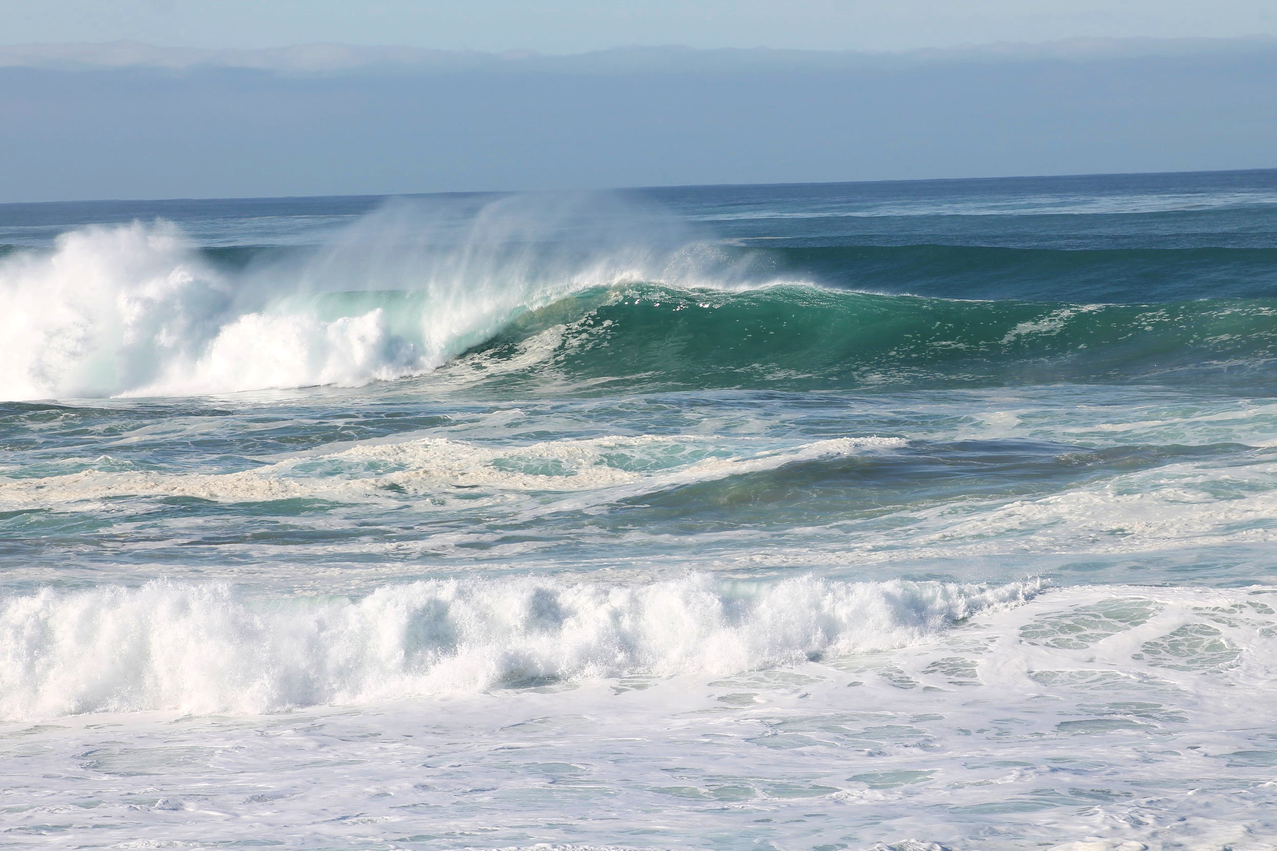 Surfing Fort Bragg