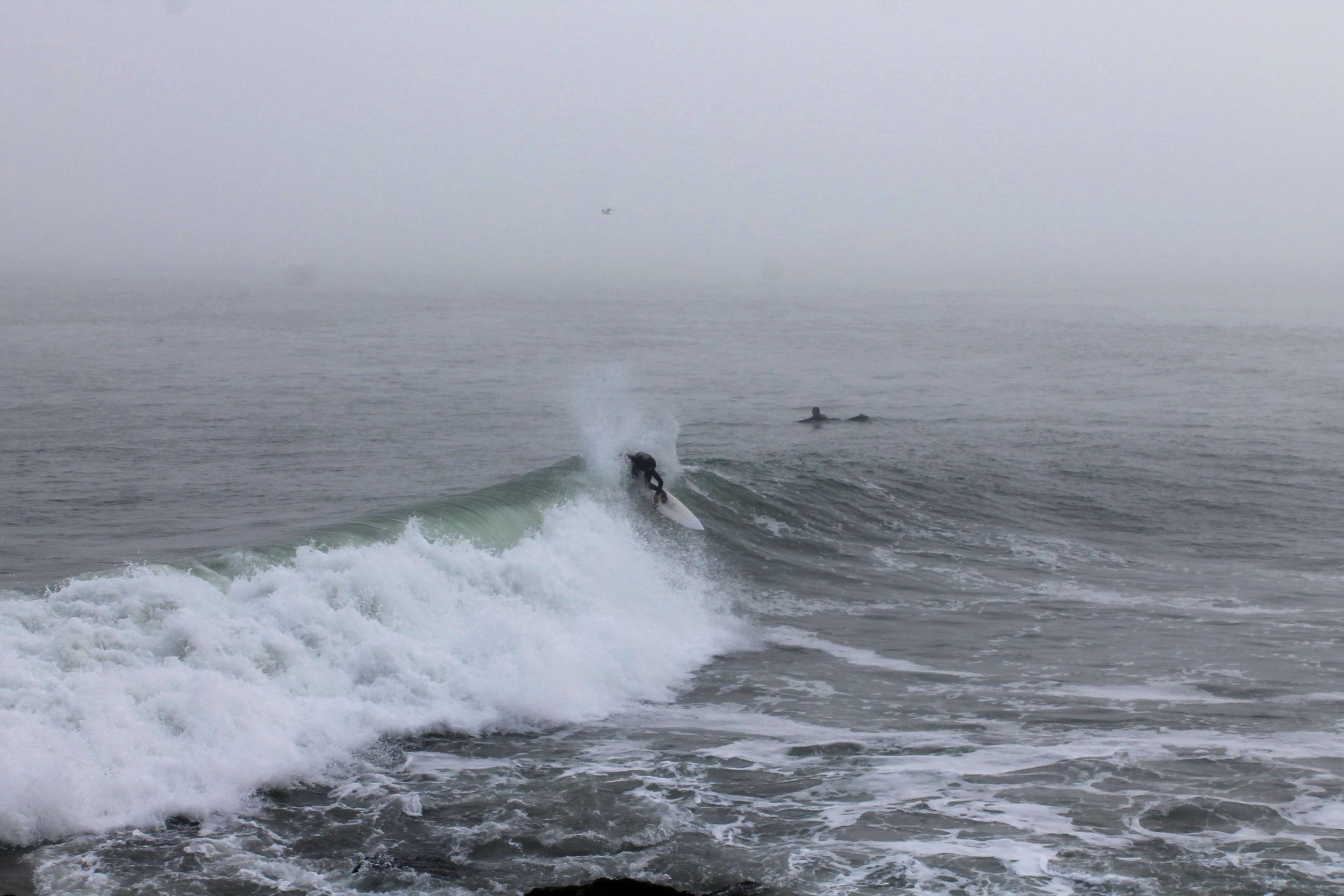 Surfing in San Francisco