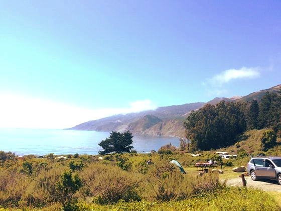 Camping at Big Sur