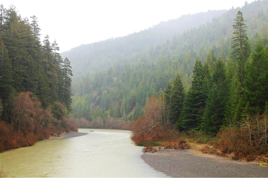 Eel River, Northern California.