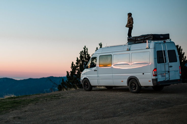Where To Park Overnight & Sleep On A Road Trip - Assuming you are not staying in a hotel or looking for a place to pitch a tent, it can be quite difficult finding somewhere safe to sleep in your van or car on a road trip but it is possible! See our list of 7 places you can park overnight for free!