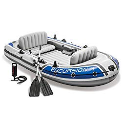 4-Person Inflatable Boat Set - $101.99