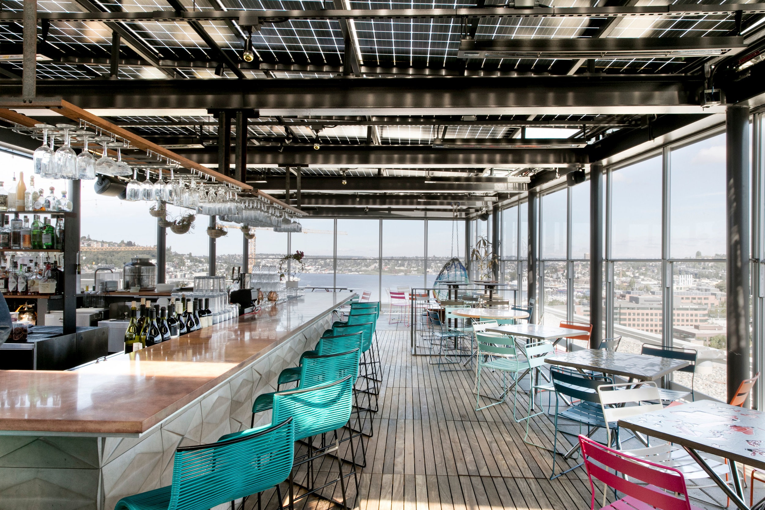 Rooftop bars in Seattle