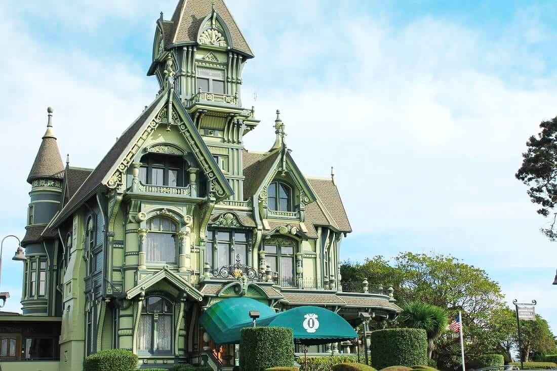 Carson Mansion in Eureka, California.