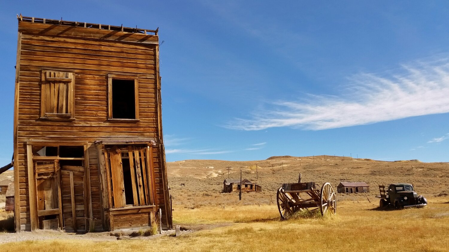 Bodie State Historical Park, California.