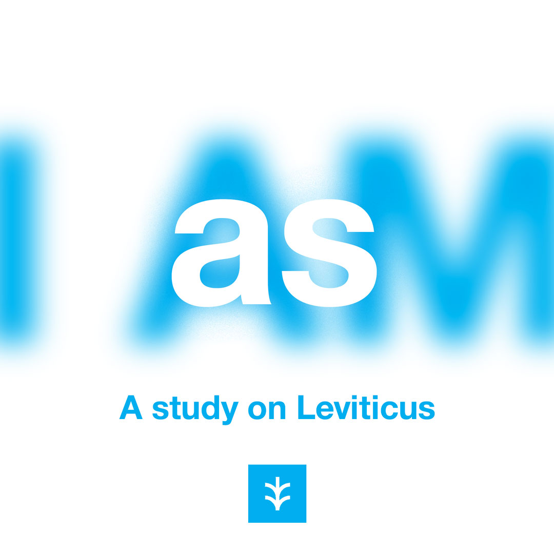 "The idea behind this graphic is that when we see Levitical law, we see irrelevance and an artifact of the past. It's a very narrow-minded view, because we see ourselves as separate. It's easy to be fixated on what's in front of us. When we take a step back, however, we see that it's part of a larger story that we began in the ""I AM"" series in Exodus. ""I am the LORD, who brought you up out of Egypt to be your God; therefore be holy, because I am holy"" (Leviticus 11:45)."