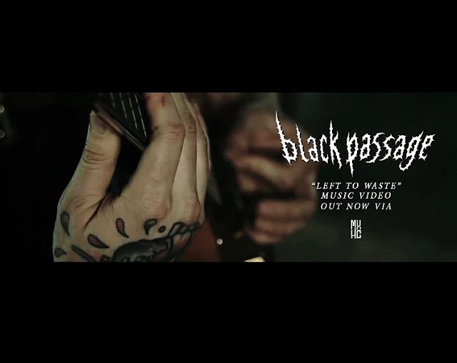 """Left to Waste"" is being featured by @mxhcmusicpromotions. Check out their page and all the heavy bands they're posting. #blackpassage #lefttowaste #theveil #mxhc #promotion #promo #feature #musicvideo #stream #youtube #spotify #applemusic #progmetal #numetal #metal #deathcore #deathmetal #breakdown #singing #guitar #drums #bass #band #metalband"
