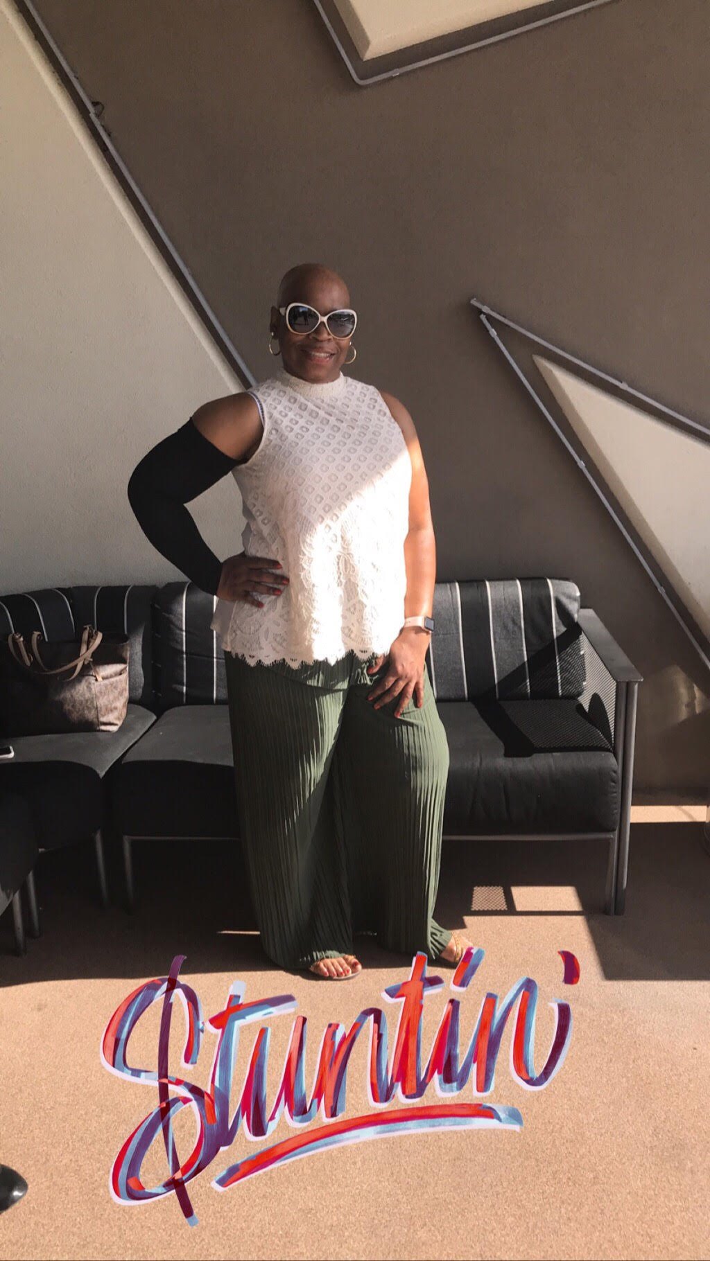 Meet the Breast Cancer Baddie - Rachelle Evans is a two-time breast cancer survivor from the Milwaukee, WI area. She wants to encourage and empower others on their journey.