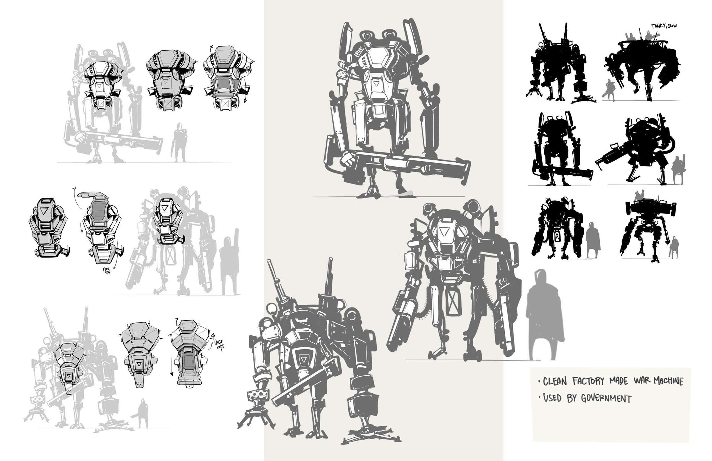 Inspiration from TitanFall