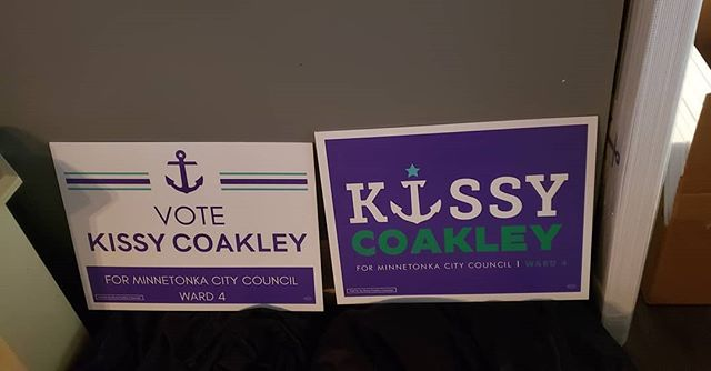 #yardsigns #votewithus #minn#lakeminnetonka  #votekissy