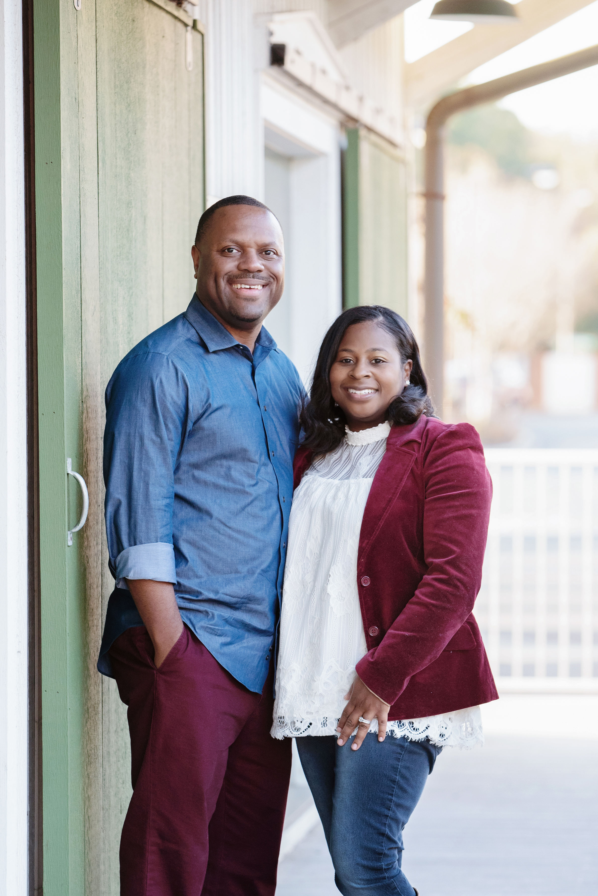 This photo of Pastor DaVon and his wife Stacy is from http://truelifefc.org/pastors/.