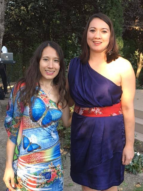 Sis and me at our cousin Mark's wedding in 2017.