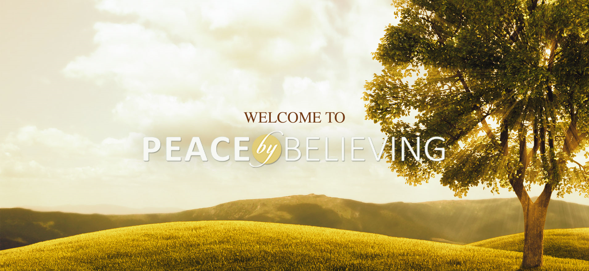 Learn more about the Peace by Believing ministry on their  website .