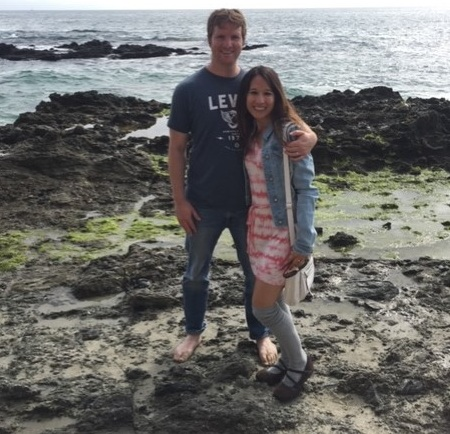 Elijah and me at Victoria Beach in Laguna Beach. We look forward to more romantic times during our travels!