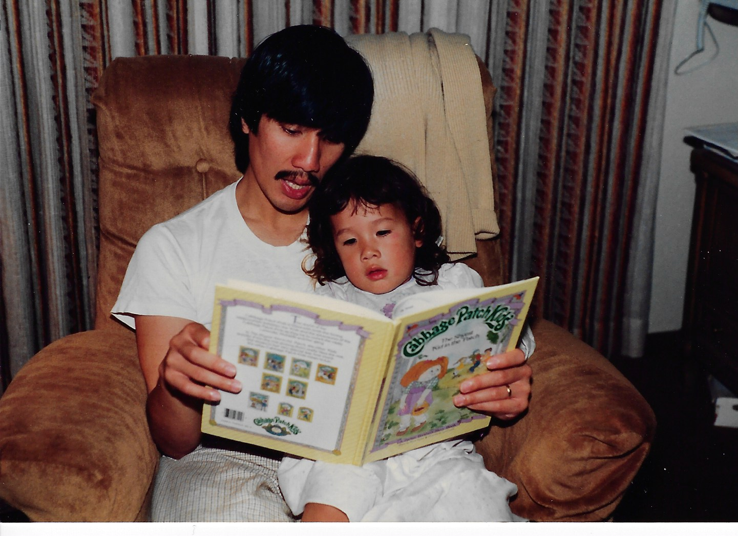 My parents read to me every single night. I think that's why I love stories so much and want to be a writer!