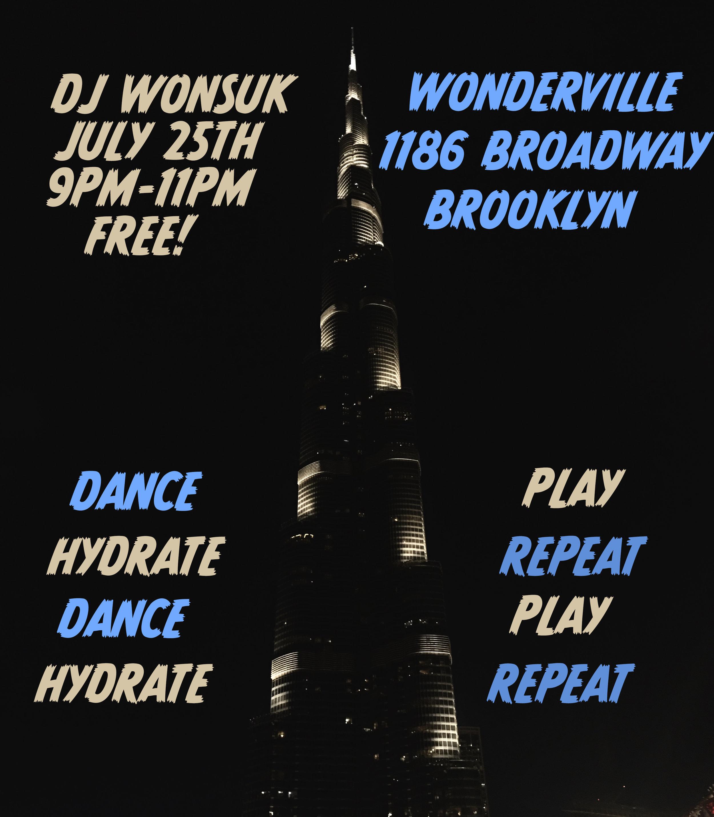 RSVP: https://withfriends.co/Event/2169262/DJ_Wonsuk_at_Wonderville