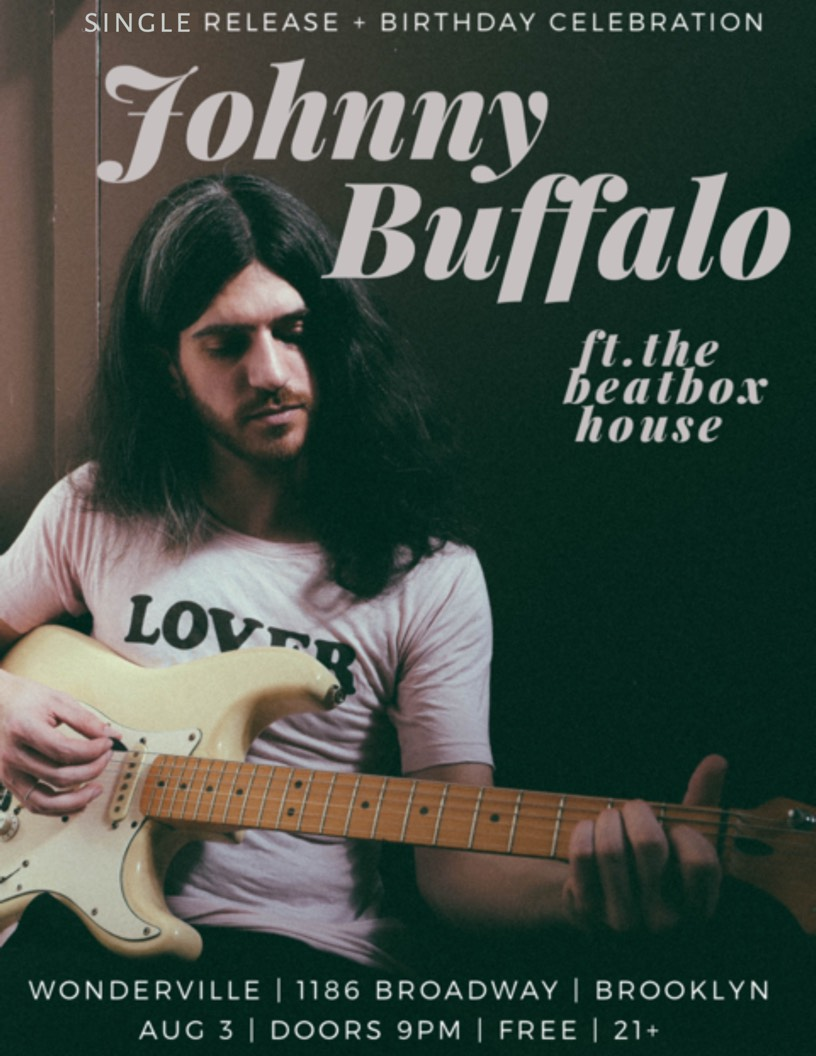 RSVP:  https://withfriends.co/Event/1996397/Johnny_Buffalo_Birthday_Album_Release_Party_ft_the_Beatbox_House
