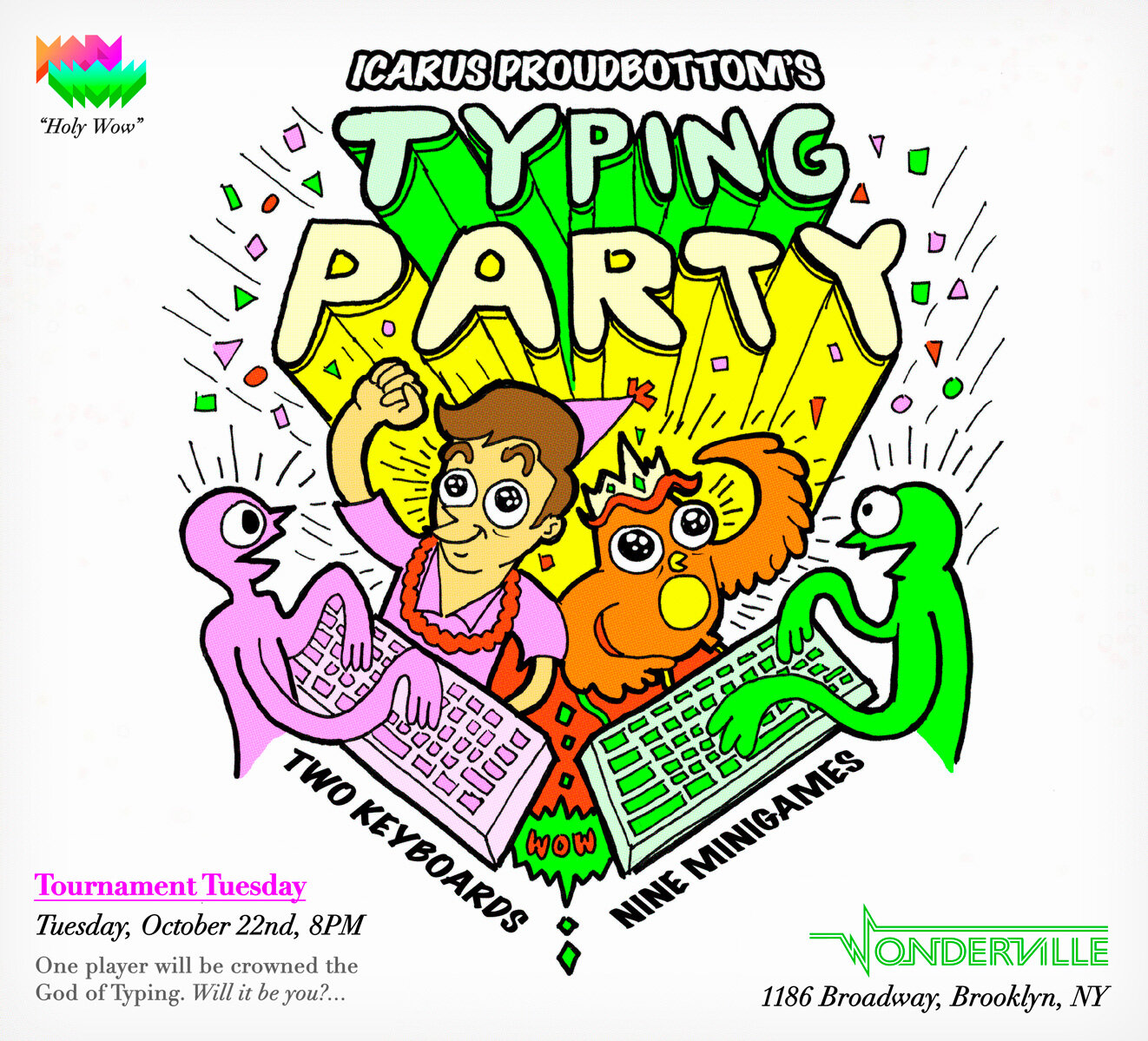RSVP:  https://withfriends.co/event/2828352/tournament_tuesday_typing_party