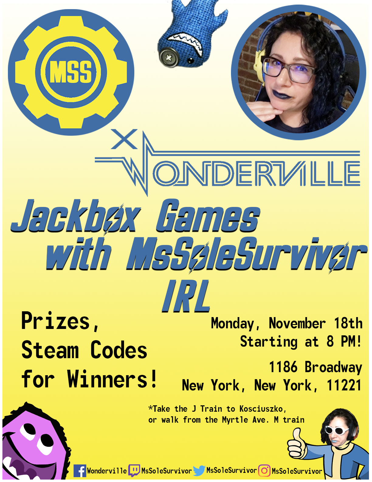 RSVP:  https://withfriends.co/event/2868104/jackbox_games_with_mssolesurvivor_2