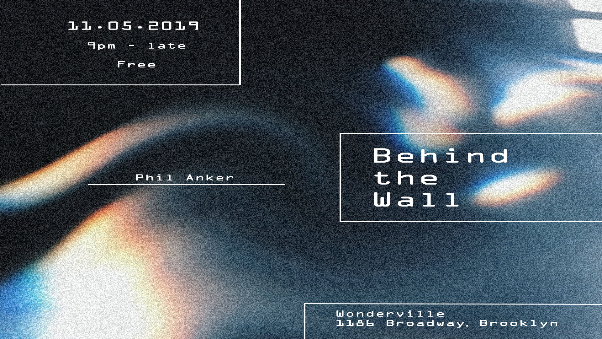 RSVP:  https://withfriends.co/event/2877399/behind_the_wall