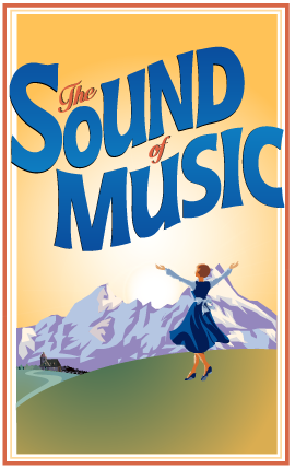 Cast members of Mirvish's  The Sound of Music