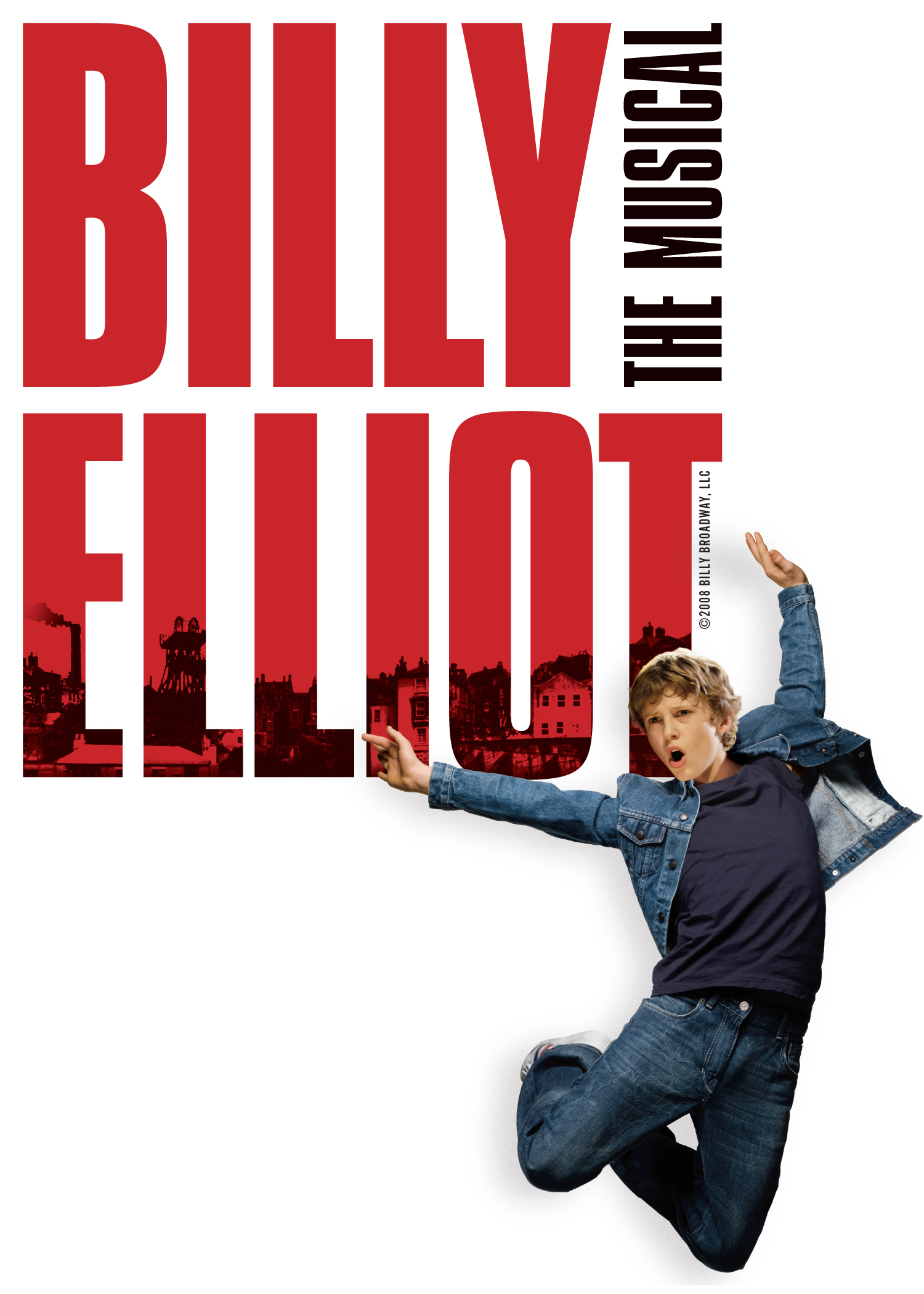 Cast members of Broadway's  Billy Elliot