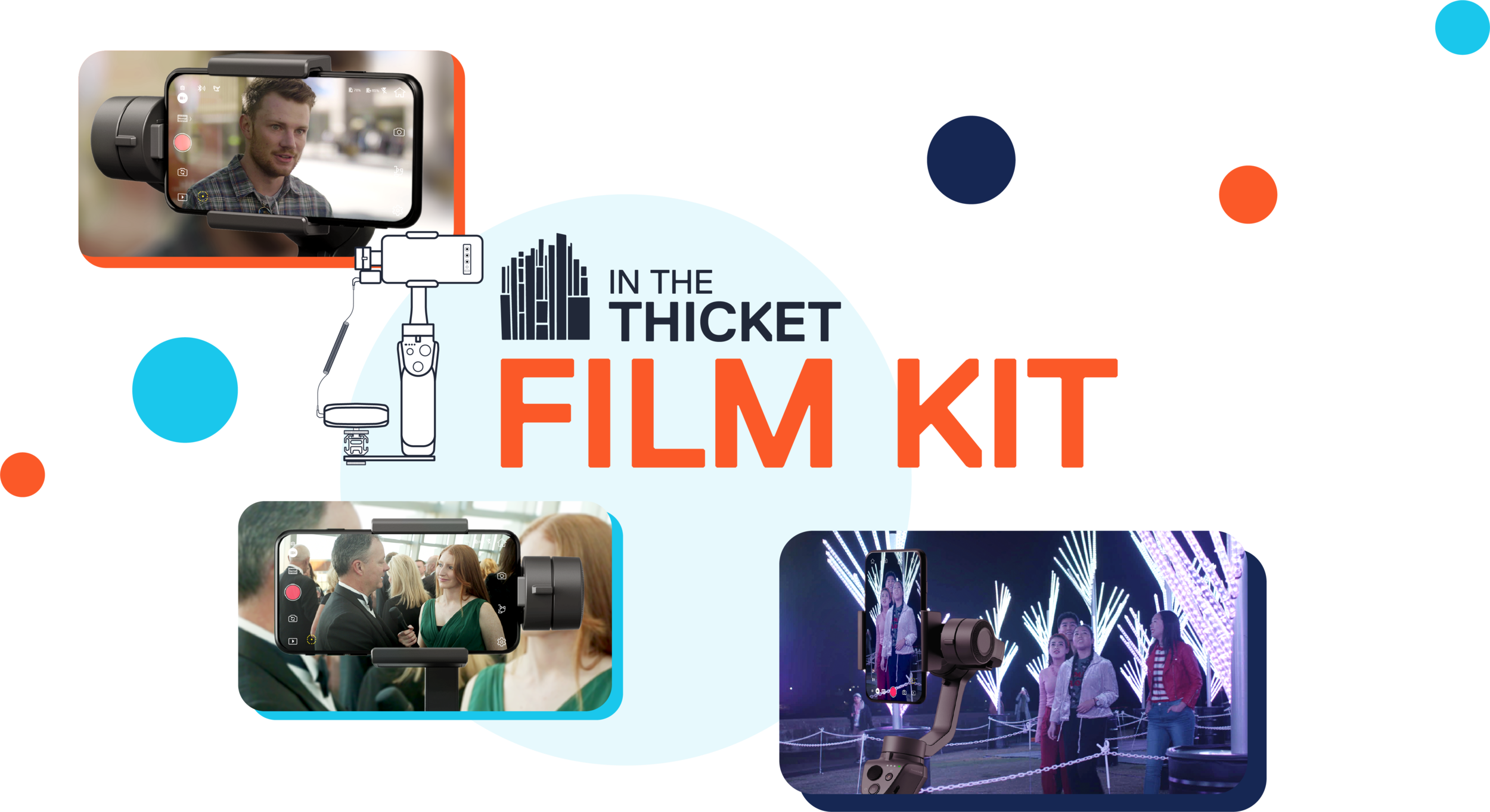 Capture your own video content with our creative support and technical assistance.We manage the post-production. -