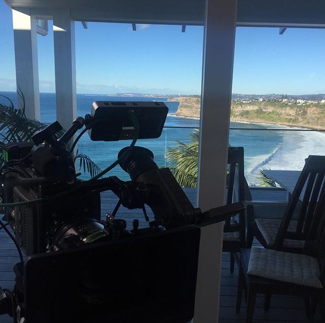 1st shooting day. Terrific view. #videoagency #brandedcontent #view