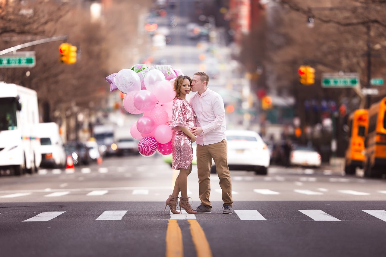 nyc maternity photoshoot upper west side gender reveal pink girl couple-6697.jpg