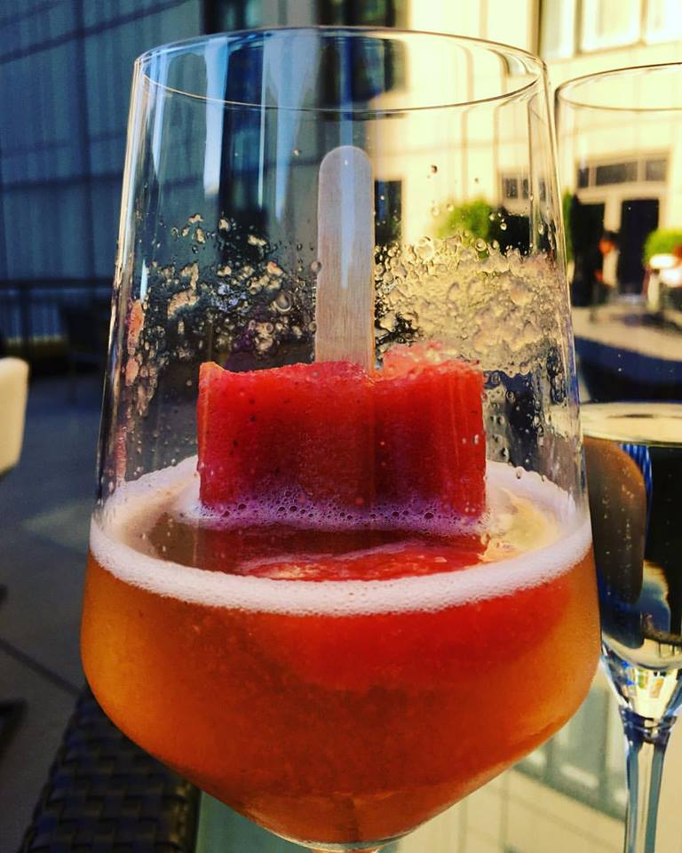 Prosecco Poptail, Upstairs at the Gwen, Chicago