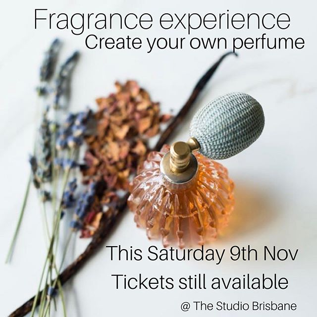 TICKETS STILL AVAILABLE TO THIS WEEKENDS THE ULTIMATE FRAGRANCE EXPERIENCE  WORKSHOP ✨  THE ART OF PERFUMERY MASTERCLASS WITH MIRIAM  Saturday, November 9, 2019 10:00 AM  12:00 PM  This is a hands on experience in making your very own Eau de Parfum using the traditional French Method with Miriam Young, Perfumer from Theoria Gold. 100% natural ingredients. No experience required, just be inspired by Miriam's enthusiasm for all things fragrant and beautiful. You will take home your very own bottle of perfume: seriously this is a playground for the alchemists!  The early bird special of $169 is available till tomorrow evening.  Tickets available through The Studio Brisbane website, link in bio.  Check out @theoriagold  #perfumery #perfumeworkshop #alchemist #workshopbrisbane #paddington4064