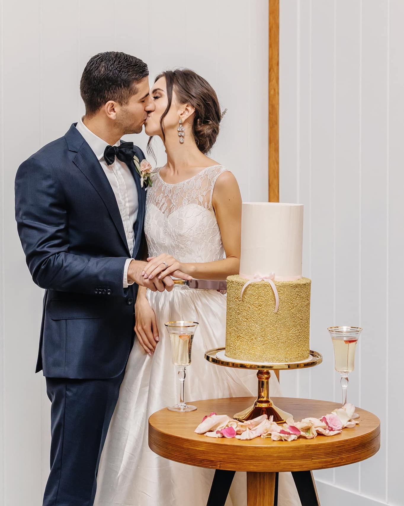 Leisa M - Bec at the team at P+P created our dream wedding + engagement cakes.She made our cake selection an easy process with prompt communication and excellent attention to detail. They not only looked beautiful but also tasted incredible.Thank you!