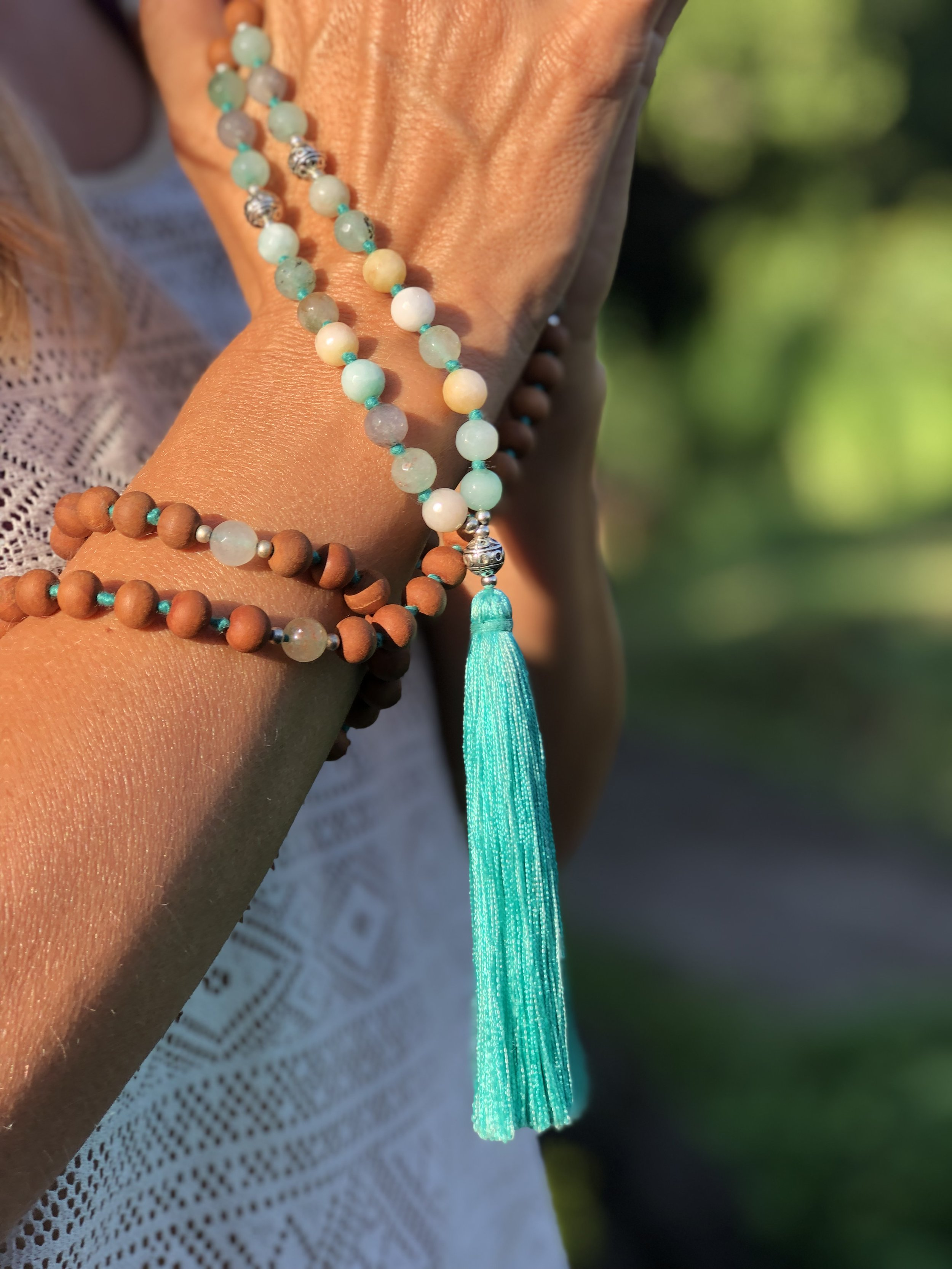 Adore yourself with a beautiful Mala - Shunya Design made with love