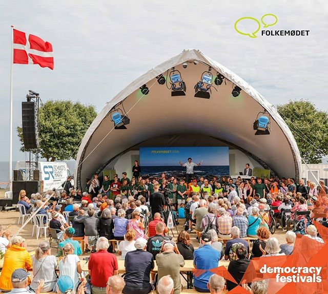 👉@folkemoedet_official 13.-16. June👈 The Danish democracy festival kicks of the Democracy Festivals season! Ckeck out  the full festival program here https://program.folkemoedet.dk/ #democracyfestivalsassociation