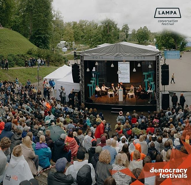 💡💡Lampa, Conversation Festival starts today!💡💡 This year the theme of the latvian democracy festival is 'courage'. Courage is the precondition for individuals and society as a whole to develop. The courage to be open-minded, listen to different opinions and welcome surprises that spur from a conversation is all it takes to participate in the festival! Check out the program here: https://festivalslampa.lv/en/programma/programme  #democracyfestivals  #democracyfestivalsassociation #democracyinnovation