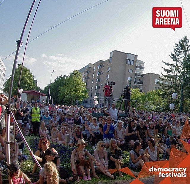 ⭐️ 15th-19th July - the Finnish democracy festival @suomiareena starts today⭐️ Join the major societal conversation event in Finland and meet, mingle and exchange ideas with everyone in urban Pori!  #democracyfestivals  #democracyfestivalsassociation #democracyinnovation