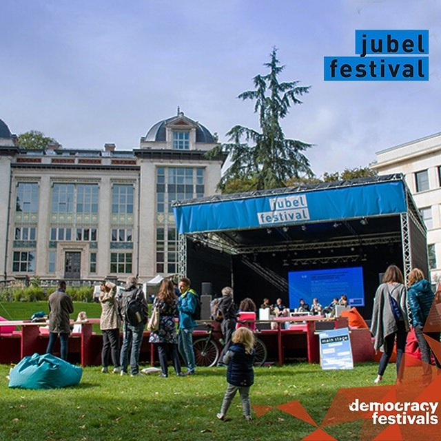 🇪🇺 🌟 @jubel_festival - is the very first European Democracy Festival - creative, innovative and resolutely bottom up.🌟🇪🇺 Join it today and tomorrow in Bruxelles!  By putting the citizens at the very heart of its conception, @jubel_festival also empowers them to participate to the shaping of our future Europe.  #democracyfestivals #democracyinnovation #democracyfestivalsassociation